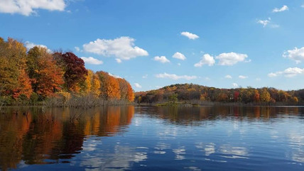 Fall View of Lake