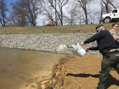 2018 PA Fish and Boat Commission Trout Stocking