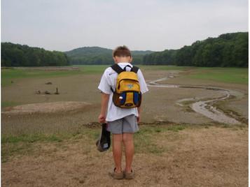 Glade Run Lake (drained).