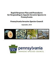 Rapid Response Plan and Procedures for Responding to Aquatic Invasive Species in Pennsylvnaia
