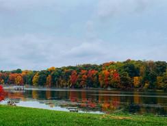 Lake Colors in Fall