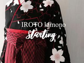 IROTOkimono本格的にスタート