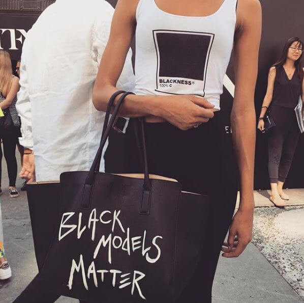 Black Models Matter bag