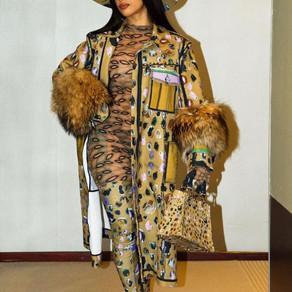 Cardi B and Stylist Take Over Paris Fashion Week