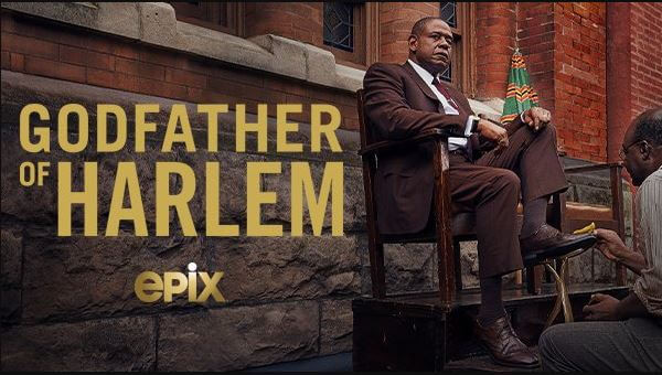 Forest Whitaker as Bumpy Johnson in 'Godfather of Harlem'