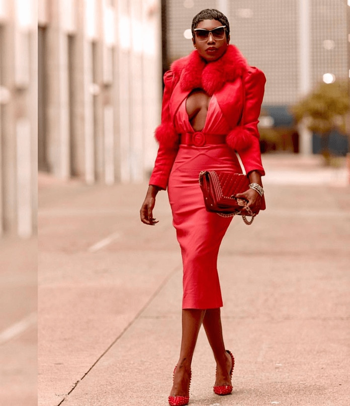 Sai Sankoh Lady in Red