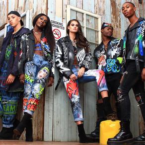 Jeantrix Turns Fashion into Art