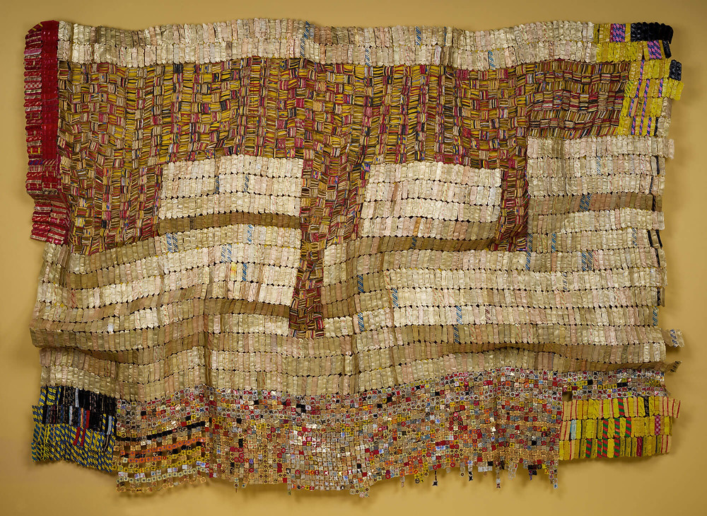 "El Anatsui's ""Between Earth and Heaven"" (2006)"
