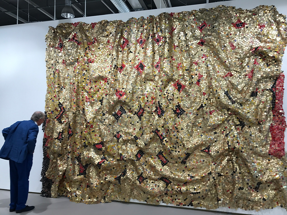 El Anatsui Wall Sculpture