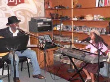Gabriella Wilson with father Kenny Wilson