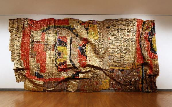 "El Anatsui ""Earth's Skin"""