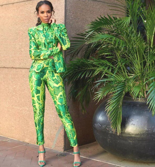 Michelle Williams in Sai Sankoh