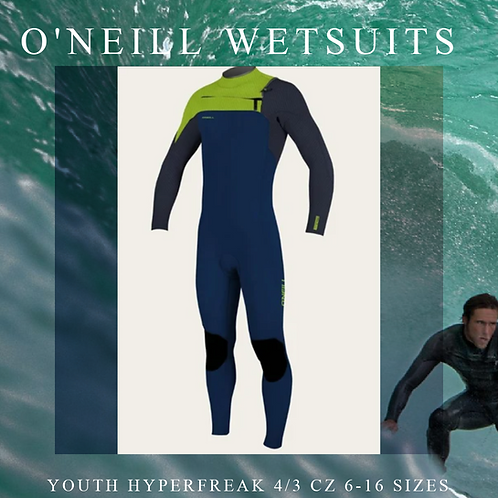 Youth Hyperfreak 4/3 Full Suit