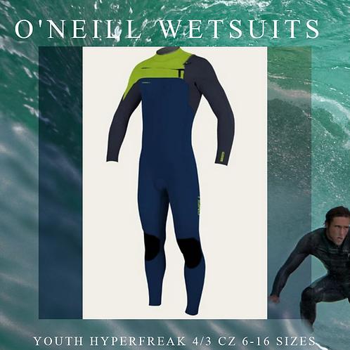 Youth Hyperfreak 4/3 Full Suit