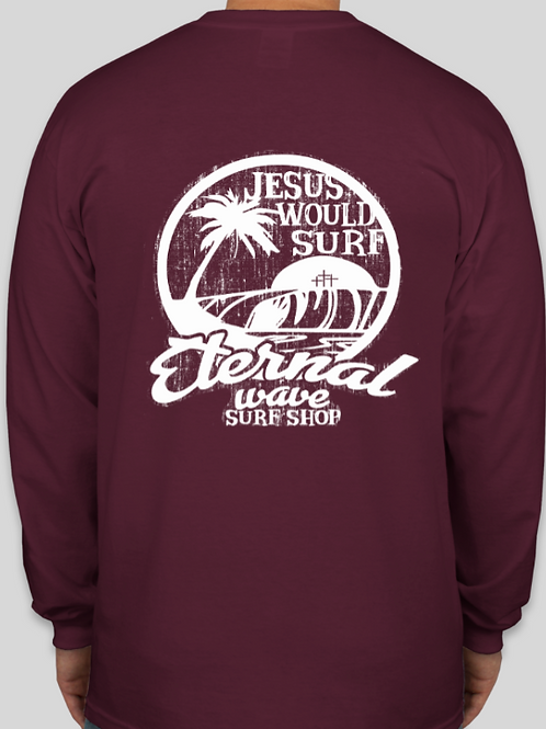 Jesus Would Surf Long Sleeve