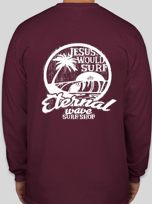 Jesus Would Surf Long Sleeve