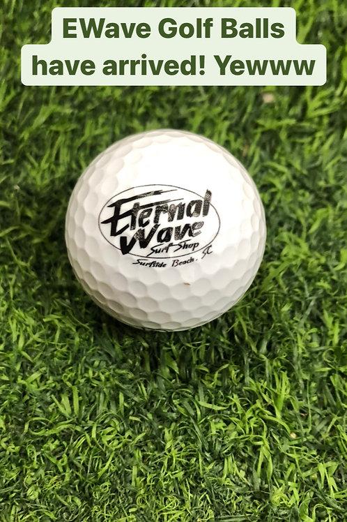E Wave Golf Balls 3pk