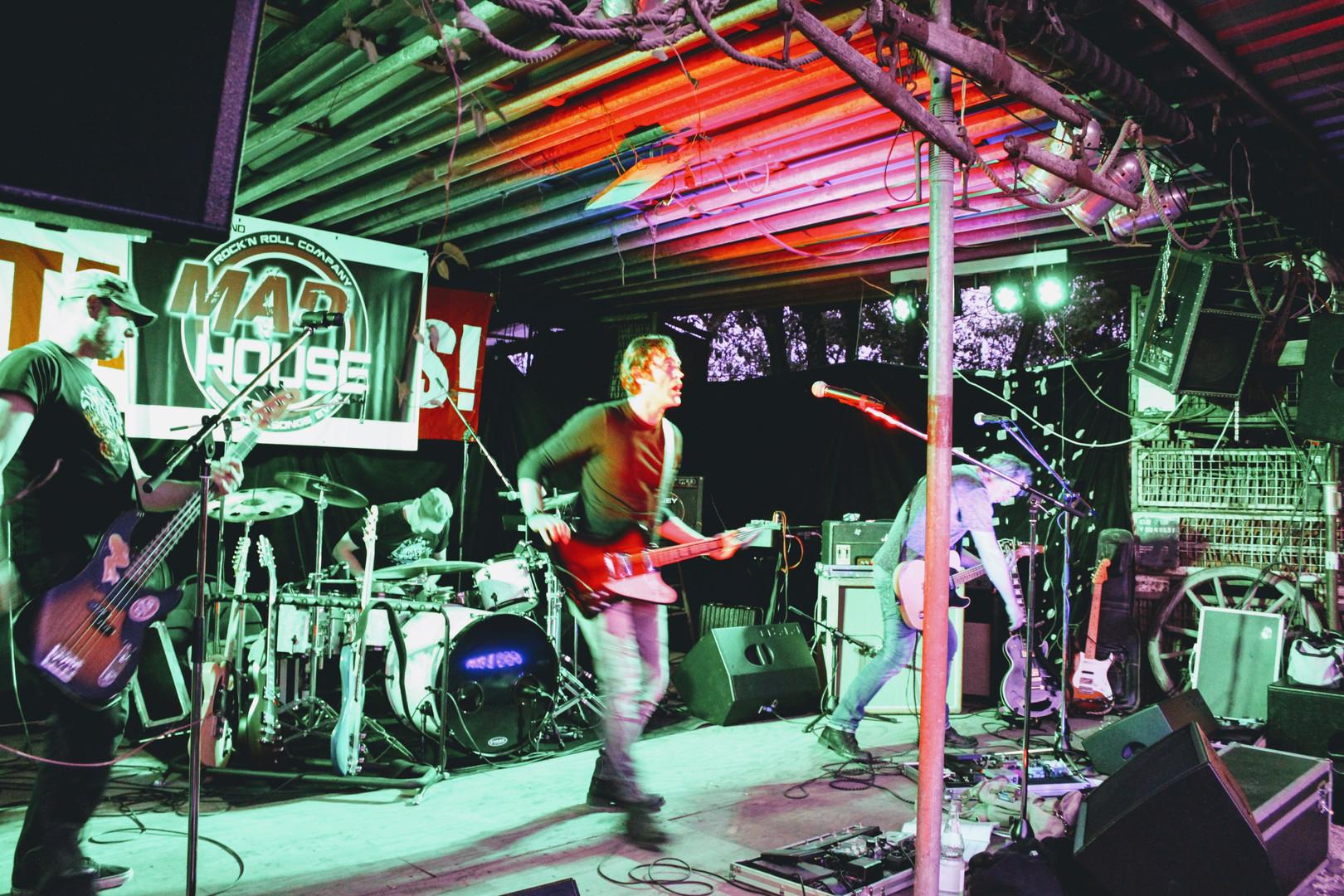 Spoonhead on Stage