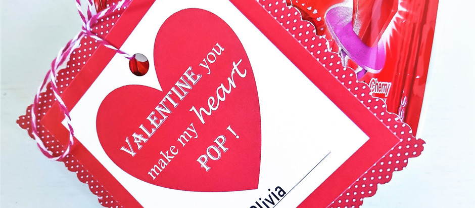 The Cutest DIY Valentine that will make your heart POP!