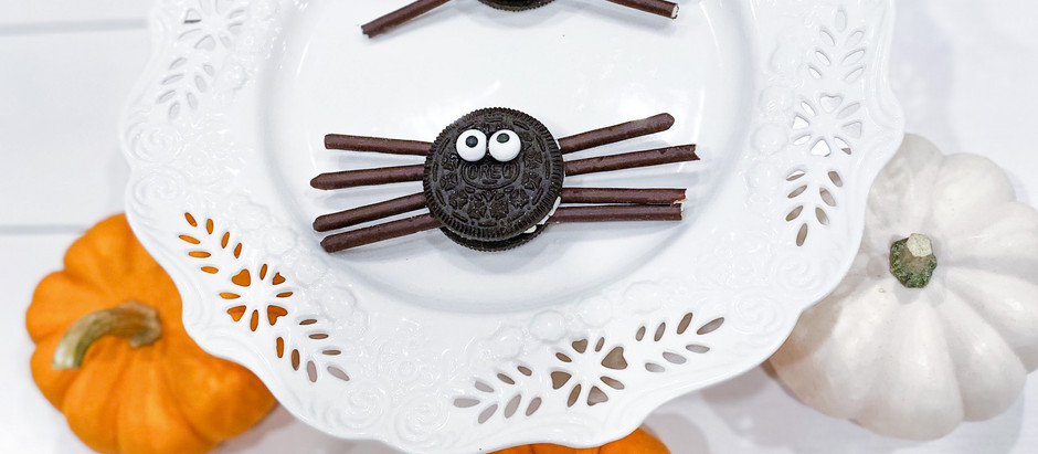 The Sweetest Spider Cookies for Halloween