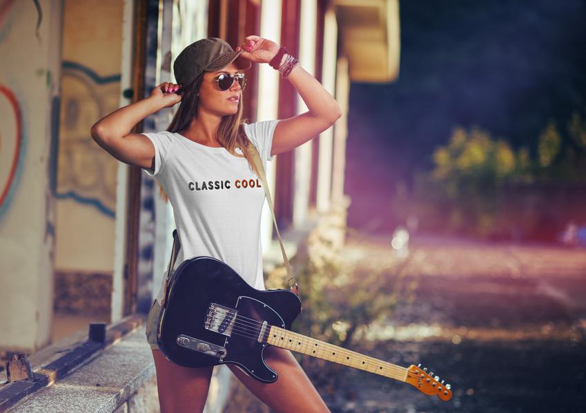 CLASSIC COOL T-Shirt guitar2.png