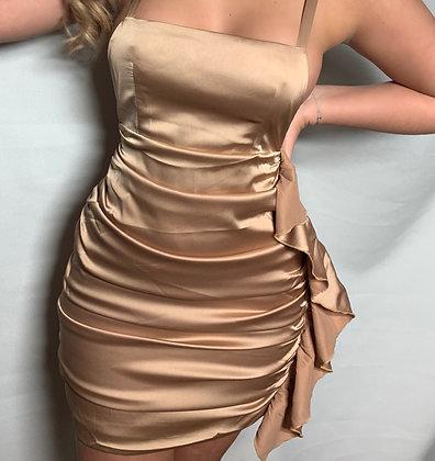 Masie Satin Dress