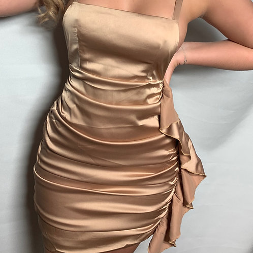 Masie Satin Dress