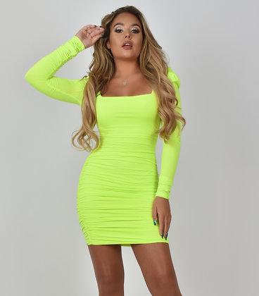 Kara Lime Dress