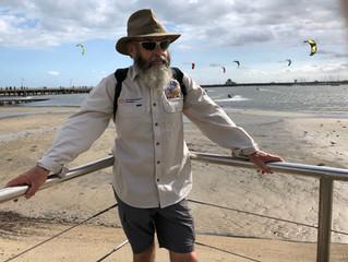 Phil Training for his Trek in St Kilda