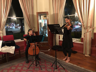 TheMusicians at ourFilm Night at The Royal Society of Victoria