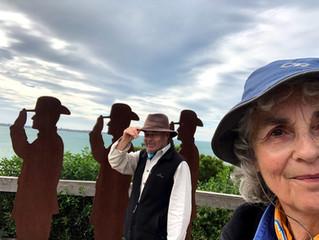 Septuagenarians Phil & Susan walk Mornington coast