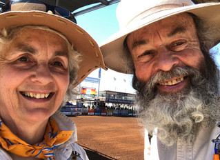 Week 14 Day 98 Aug 11th Mt Isa Rodeo - detour