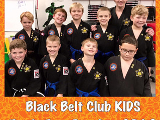 Black Belt Club Kids 2018