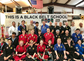 An Exciting Black Belt Test!