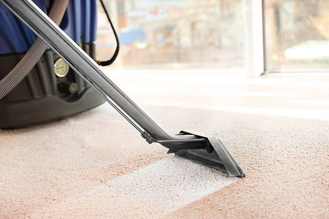 Cleaning service concept. Steam vapor cl