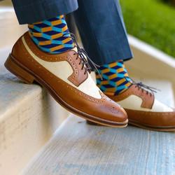 Fun-printed socks