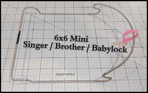6x6 Mini for Singer & Brother / Babylock 6x10 Frames