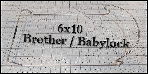 6x10 Brother / Babylock JTH
