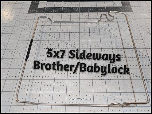 5X7 Sideways Brother / Babylock JTH