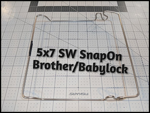 5x7 Sideways for SnapOn Brother/Babylock