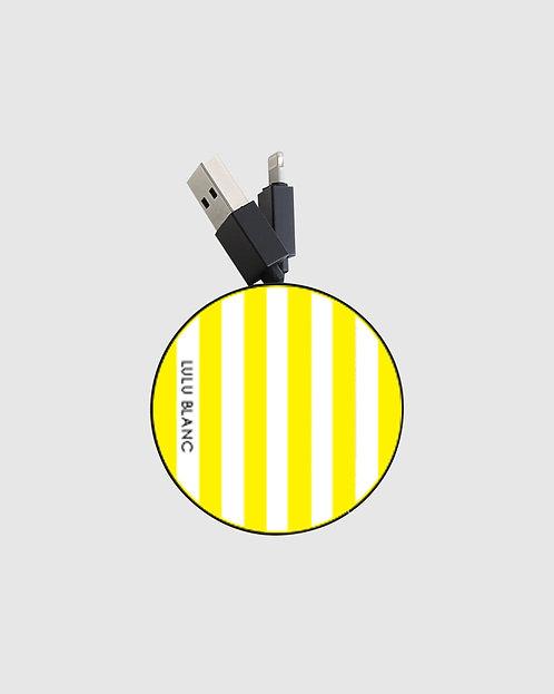 Yellow striped reel