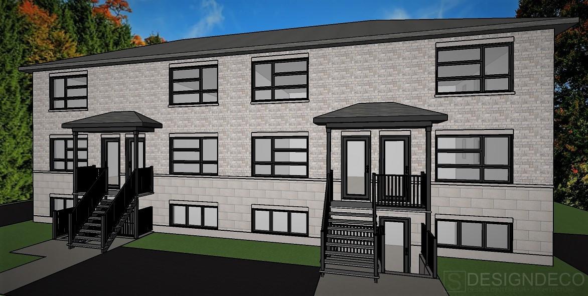 3D de la facade