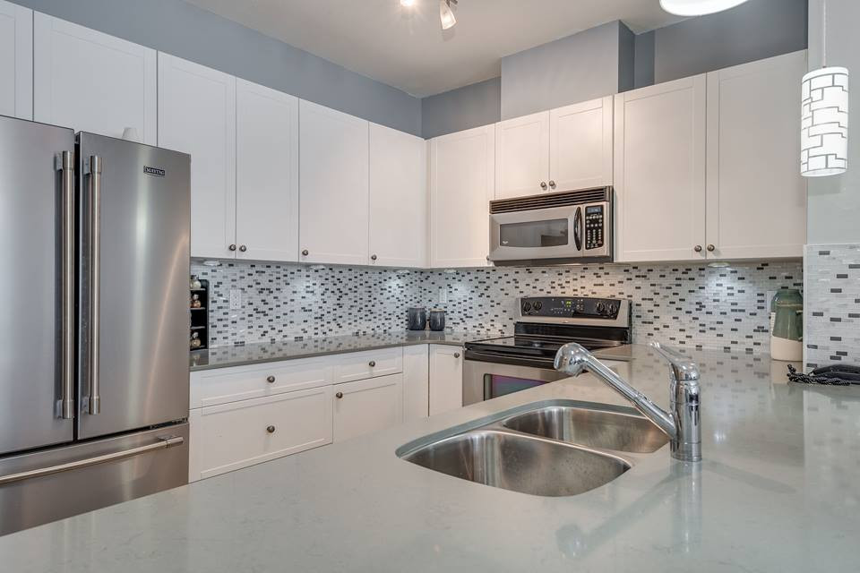 Modern Back splash