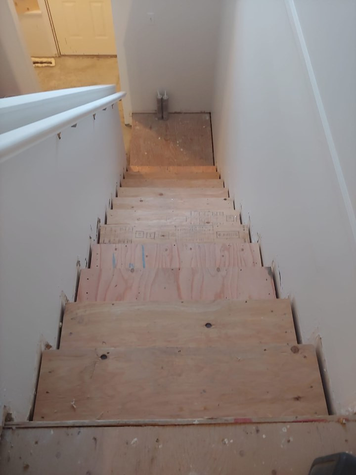 plywood steps1