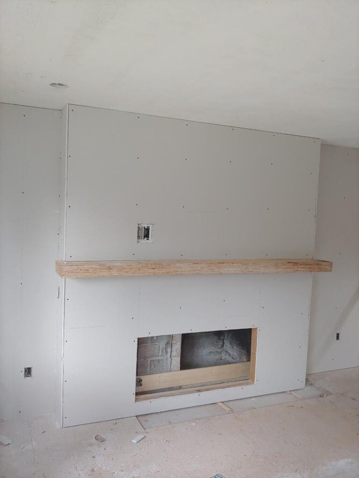 fireplace replace