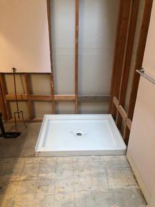 standup shower