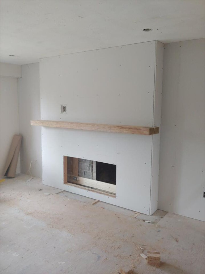 fireplace replace 2