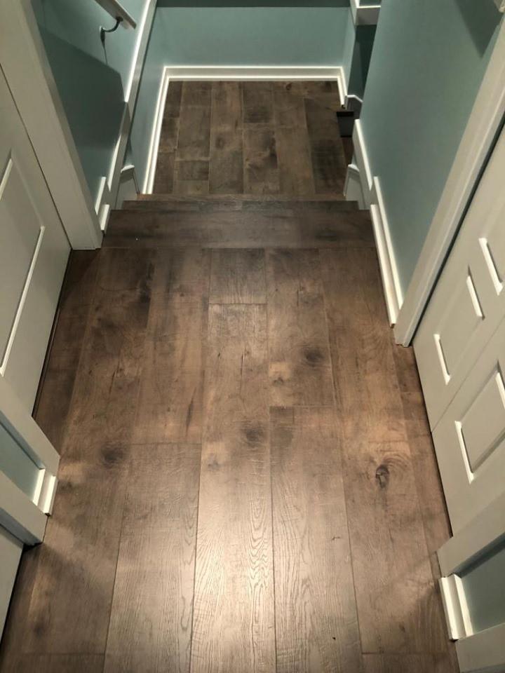 floor to stairway