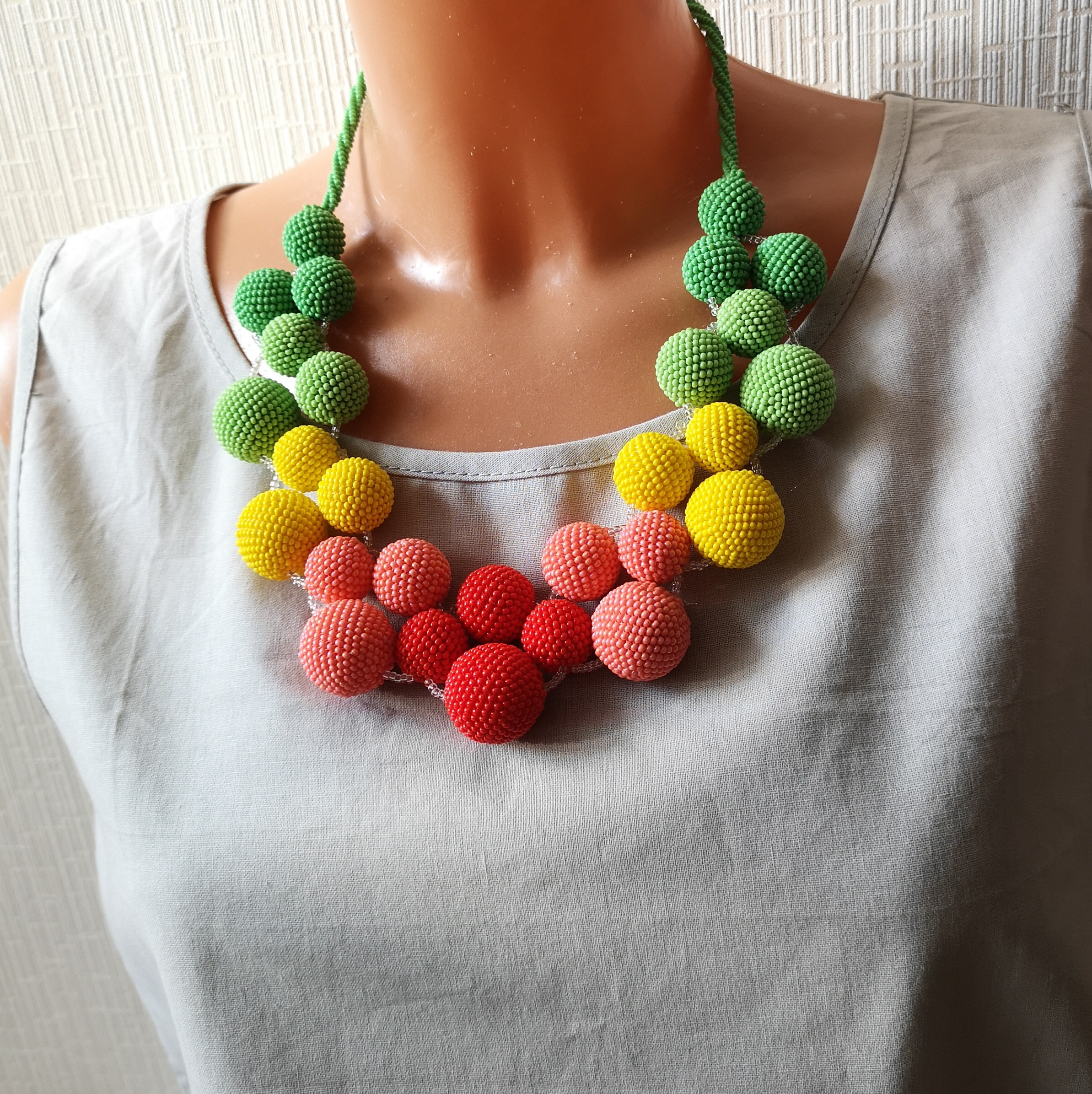 seed beads necklace (9)