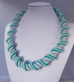 21073-2 SPIRAL NECKLACE for WOMEN